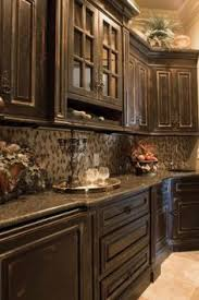 Creativity Kitchens With Black Distressed Cabinets Find This Pin And More On Kitchen Ideas For Design