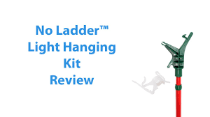 Christmas Light Hanging Kit Home Depot No Ladder Christmas Light Extension Pole Review