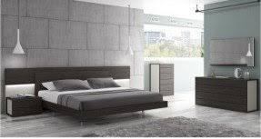 chrome bedroom furniture. Unique Furniture Ju0026M Furniture 17853K Palermo King Size Bedroom Set  White Lacquer U0026 Chrome And Chrome Bedroom Furniture O