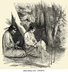 hiawatha minnehaha longfellow poem stock photos hiawatha song of hiawatha by henry wadsworth longfellow hiawatha s wooing minnehaha and her father