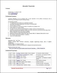 Resume Templates Open Office Free Gorgeous Free Resume Templates Professional Resume Templates Design For