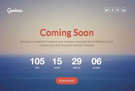 Coming Soon Website Template Custom 28 Best Coming Soon HTML Templates For Free Download And Premium