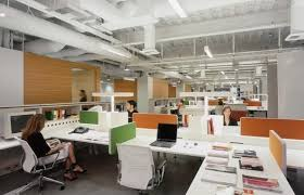 awesome open office plan coordinated. Open Plan Office Coordinated With Orange And Green Panels Openplanoffice Cu Awesome