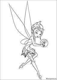 Tinkerbell Secret Of The Wings Kleurplaten Kleurplateneu