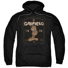 Garfield Est 1978 Unisex Adult Pull-Over Hoodie for ... - Amazon.com