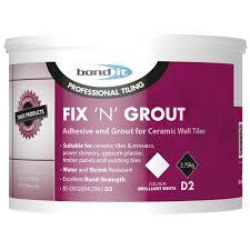 bond it 3 75kg fix n grout tile
