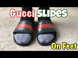 gucci slides black. gucci slides black