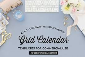 Annual Calendar | Indesign Template ~ Stationery Templates ...