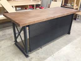 Extremely Ideas Metal Office Desk Great Steel Low Price Tablemdf Top