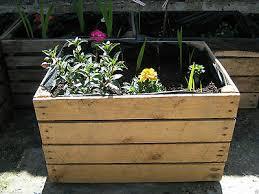 1 x planter vintage rustic european