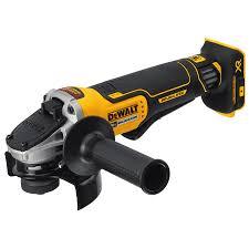 cordless grinder. dewalt 4.5-in 20-volt max-volt cordless angle grinder -