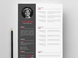 Free Vector Resume Template With Creative Design By Andy Khan On