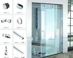 sliding glass door handle appealing hot bathroom half shower doors wont lock