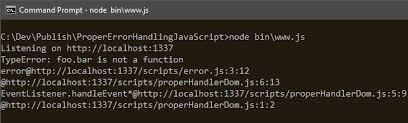Ajax Log Request to Node Server