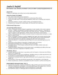 Accounting Resume Objective Accounts Payable Examples Jane For