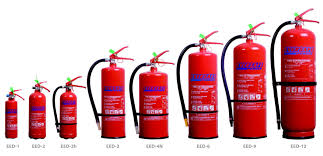 Fire Extinguisher Sizes Chart Fire Extinguishers Kuwait