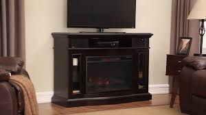 chimneyfree 48 berinton electric fireplace entertainment center in espresso at menards