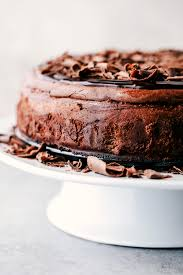 chocolate cheesecake recipe. Beautiful Recipe Death By Chocolate Cheesecake Has An Oreo Crust With Creamy Decadent And  Rich Chocolate Cheesecake Topped Dark Ganache This Is A  On Recipe The Critic