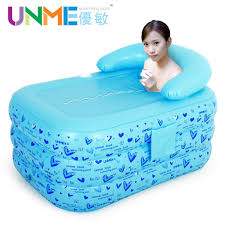 Thickening Adult Inflatable Bathtub Thermal Folding Bathtub ...