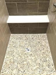 tileable shower pans large glazed java tan pebble tile shower pan keen shower pan tile fiberglass tileable shower pans
