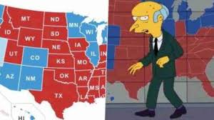 The Simpsons predicted US Election 2020 Results Map and netizens are  convinced; Know why