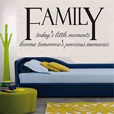 mural art home decor wall stickers family diy family removable wall decal family home sticker black