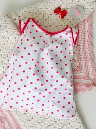 Free Baby Dress Patterns Mesmerizing How To Sew A Knit Baby Dress With Free Pattern Howtos DIY