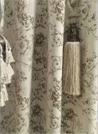 Modern Farmhouse Shower curtain toile shower curtain beige tan