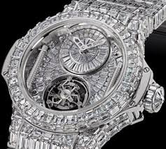 17 best images about accessories men s watches hublot unveils the most expensive watch at basel so many diamonds they couldn t