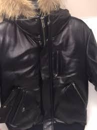 mens fur hooded coats