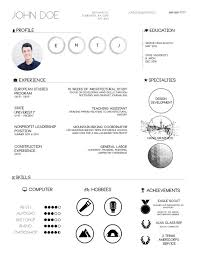 Examples Of Cv Best The Top Architecture R Sum CV Designs ArchDaily Resume Examples