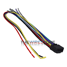 16 pin wire harness for select kenwood car radio cd player stereo 16 pin wire harness for select kenwood car radio cd player stereo receiver