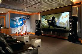 home theatre wall decor cozy theater room size art fascinating design  concessions full
