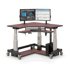 image corner computer. Steel Frame Electric Corner Computer Desk Image