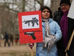 anti gun control sign. Exellent Gun Luna Miller Holds A Anti Gun Sign While Participating In Rally And March  Across The To Anti Gun Control Sign D