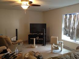 paint bathroom ceiling same color as walls. step 2: paint all the edges same color as ceiling bathroom walls