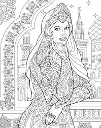 Colouring Pages For Recolor Princess Colouring Page Recolor App