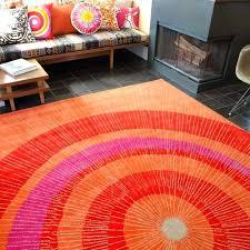 pink and orange rug hot pink and orange area rug