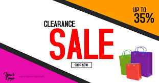 For Sale Or For Sell Clearance Sale Flyer Big Sell Out Season Sale Shopping Ad