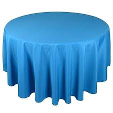 turquoise round tablecloth turquoise inch polyester round tablecloths turquoise tablecloth plastic