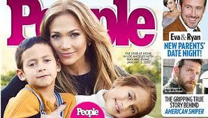 Ha logrado llevarse muy bien y los cuatro retoños han encajado a la perfección como si fuesen todos hermanos. Jennifer Lopez Poso Con Sus Hijos Para La Revista People Tvmas El Comercio Peru