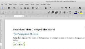 libreoffice math formula editor