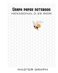 Buy Graph Paper Notebook 100 Pages Hexagonal 0 25 Inch Book