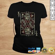 Zazzle.com has been visited by 100k+ users in the past month King Of Spades Skull Tshirt Men Poker Card Game Biker Grunge Tshirt Teeonion