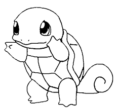 Small Picture Coloring Pages Pokemon Squirtle Drawings Pokemon