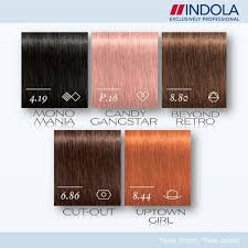 Schwarzkopf Indola Colour Chart Indola Profession Permanent Caring Color Shades Street Style