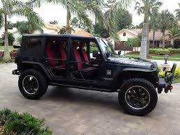soft top jeep wrangler unlimited jk power windows off road