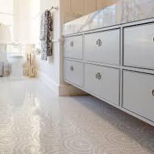 modern tile floor. Modern Cottage Bathroom With White And Gray Mosaic Tile Floor Modern Tile Floor