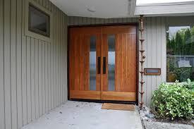mid century modern front doorsMidCentury Modern Master Suite  Midcentury  Entry  Seattle