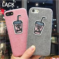 diy phone case seoul funny diy cartoon embroidery case for iphone 7 case warm fuzzy cover